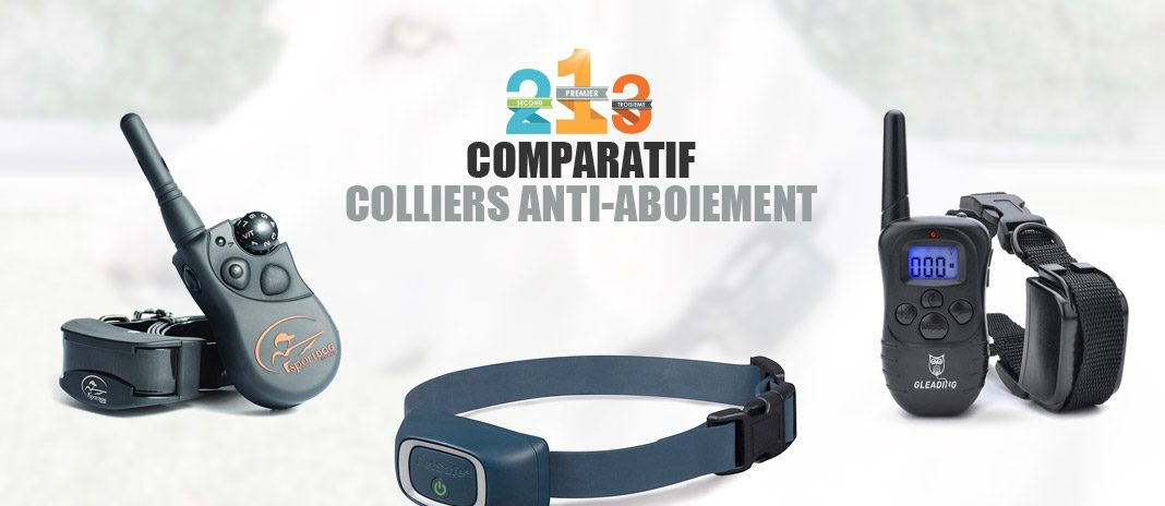 comparatif colliers anti-aboiement