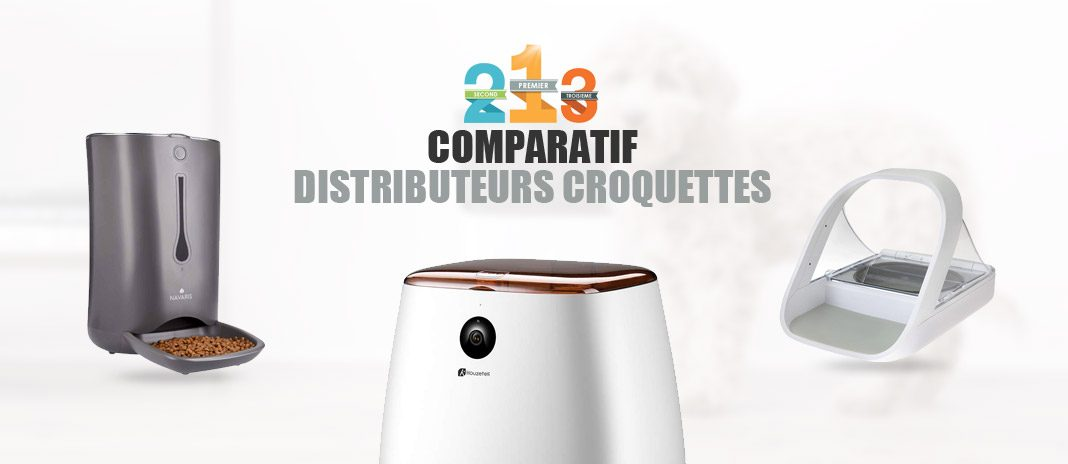 comparatif distributeurs croquettes