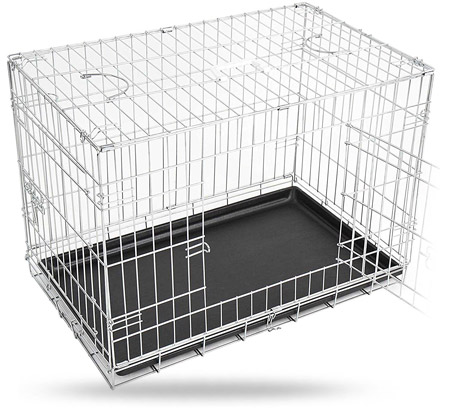 cage chien Leopet