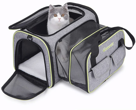 sac dadypet pour chat
