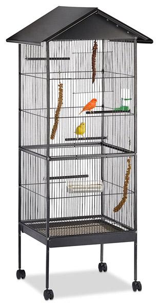 cage oiseau Relaxdays