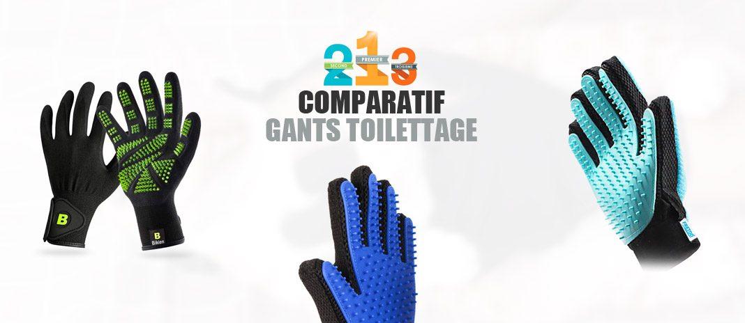 meilleurs gants de toilettage